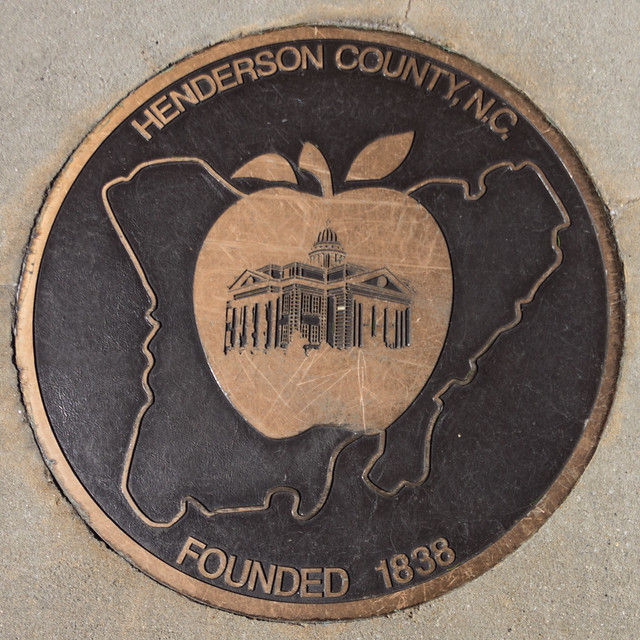 Henderson County founded 1838