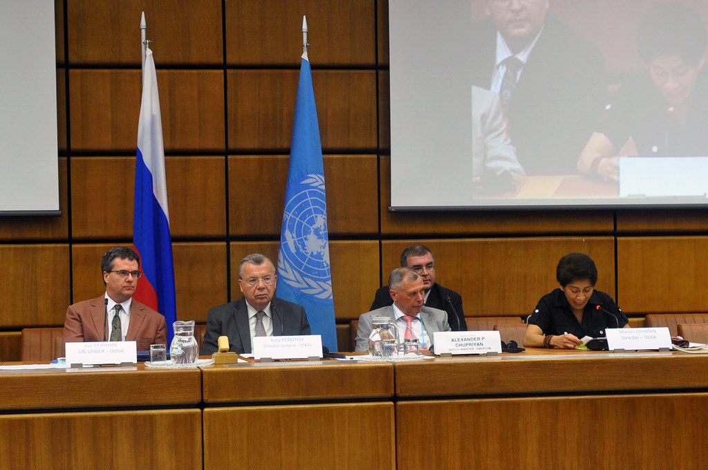 Signing Of The Agreement Between The United Nations Office Flickr
