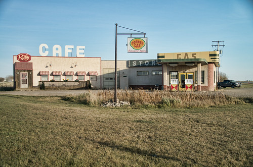 and the ruby cafe corner gas from wikipedia the free