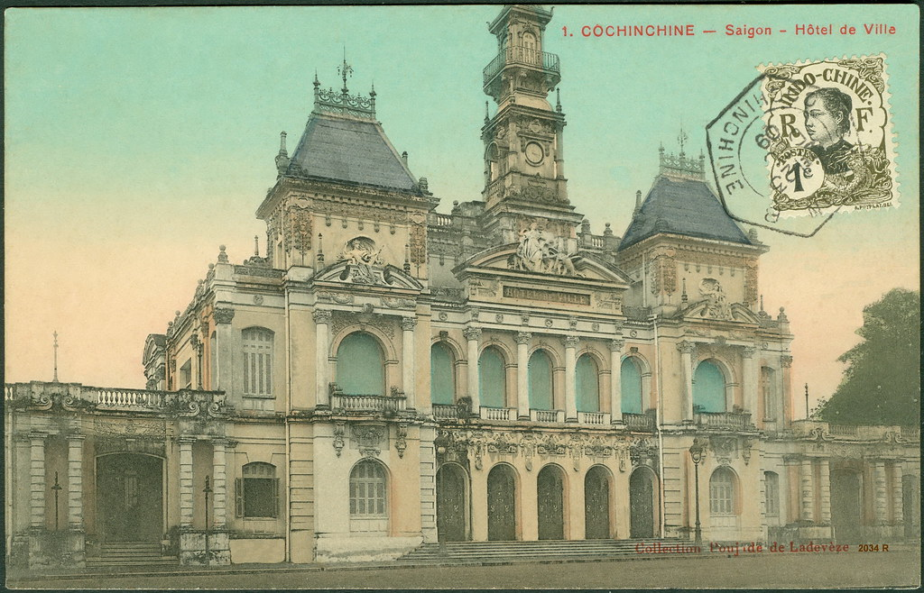1. COCHINCHINE - Saigon - Hôtel de Ville Collection Poujad…   Flickr