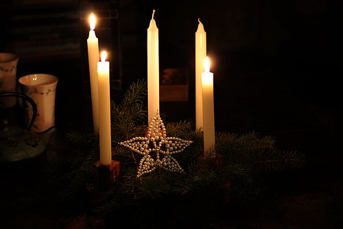 advent wreath | by withrow