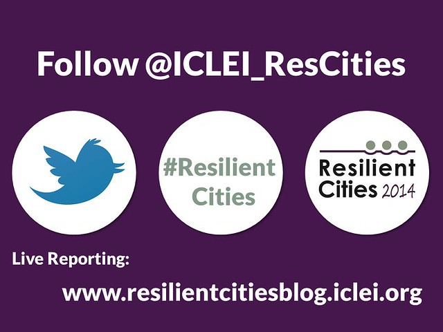Resilient Cities 30 May 2014
