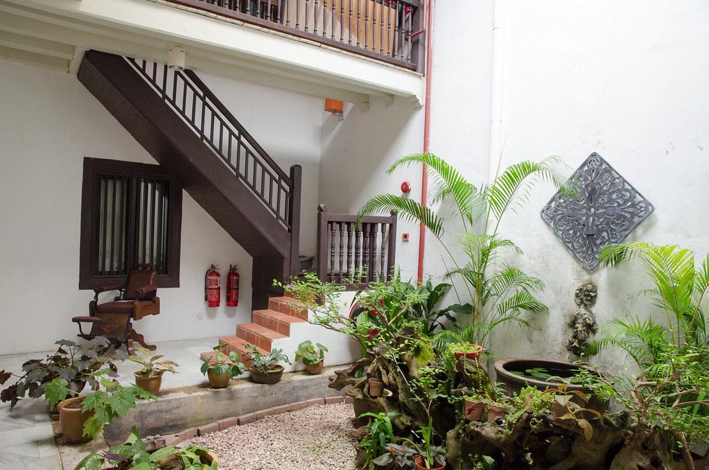 Hotel Puri Melaka's garden