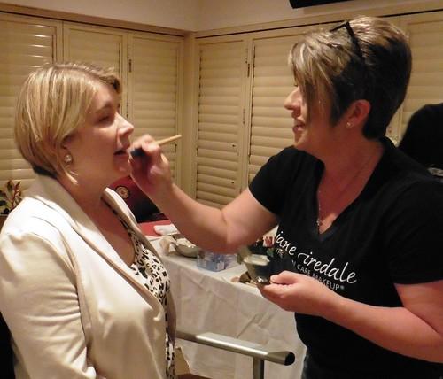 Jane Iredale makeup artist