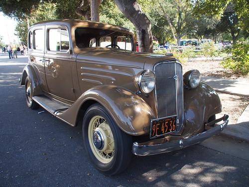 1935 chevrolet 4 door sedan 39 9f 45 36 39 1 photographed at for 1935 chevrolet 4 door sedan