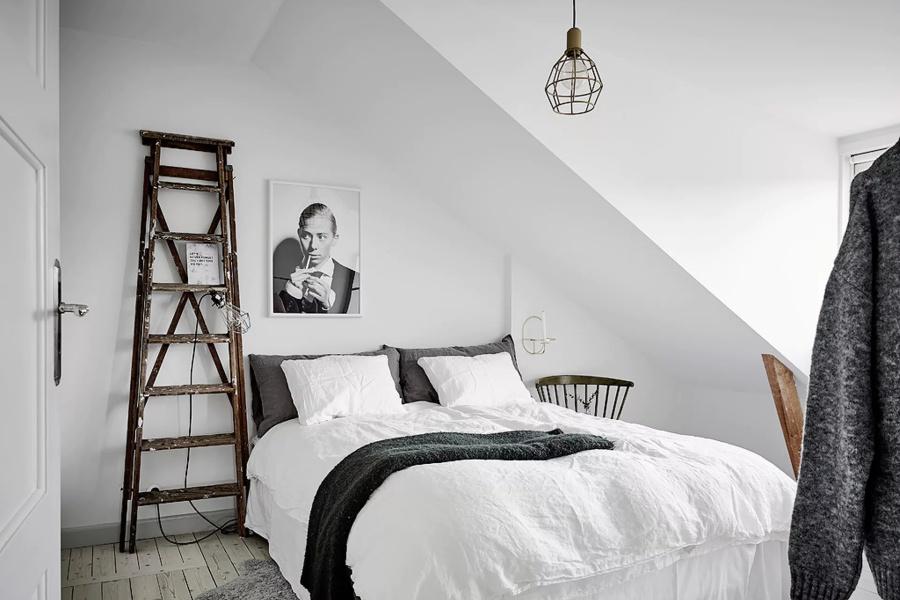 An All White Scandinavian Home