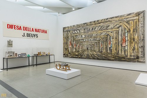 Joseph Beuys Anselm Kiefer The Broad Museum Los Angeles 01 | by Eva Blue