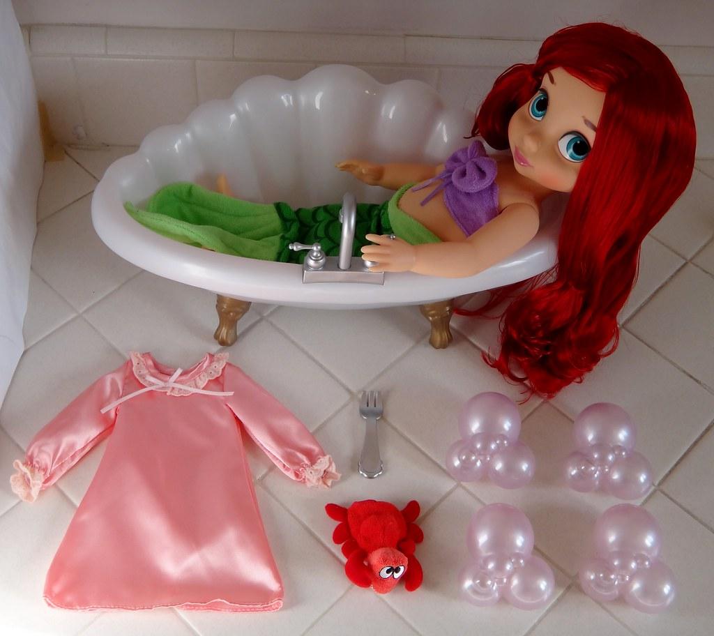 Ariel Deluxe Bathtub Gift Set - Disney Animators\' Collecti… | Flickr
