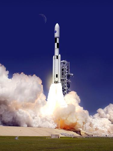 Artist Concept: SLS 130-Metric-Ton Configuration (NASA, Sp ...