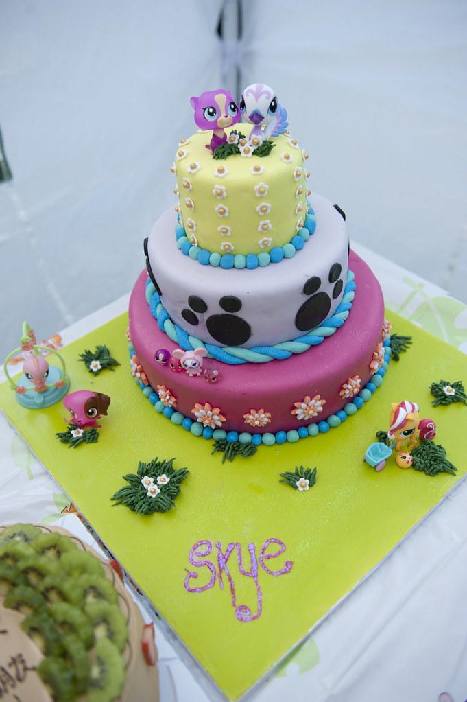 Surprising Littlest Petshop Birthday Cake Skyes Littlest Petshop Bir Flickr Funny Birthday Cards Online Ioscodamsfinfo