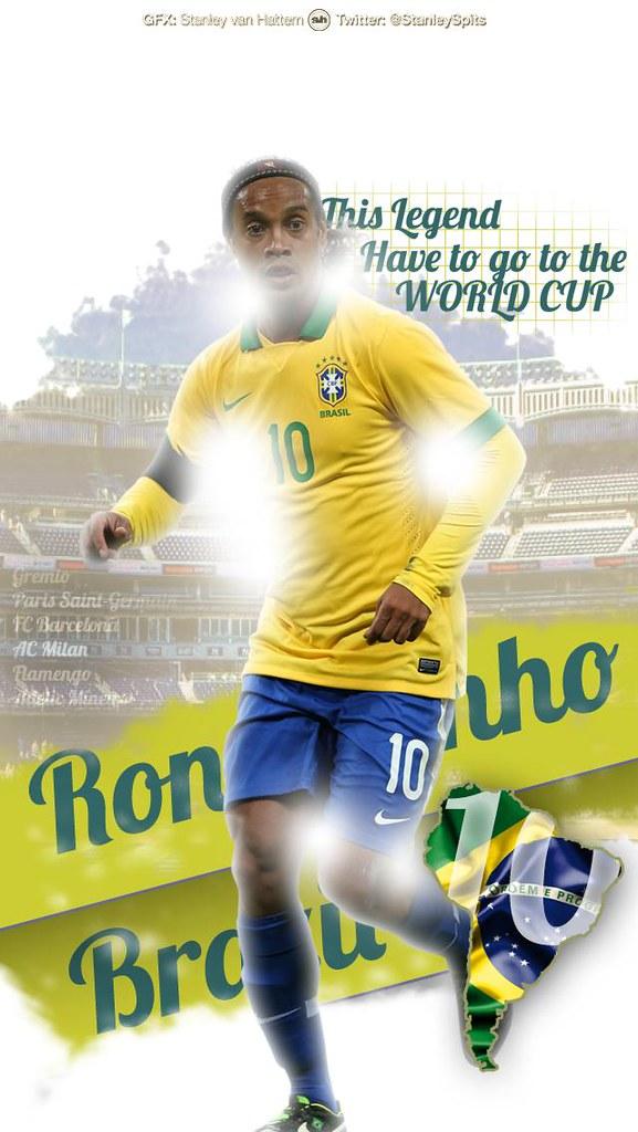 Ronaldinho Iphone Stanleyvanhattem Flickr