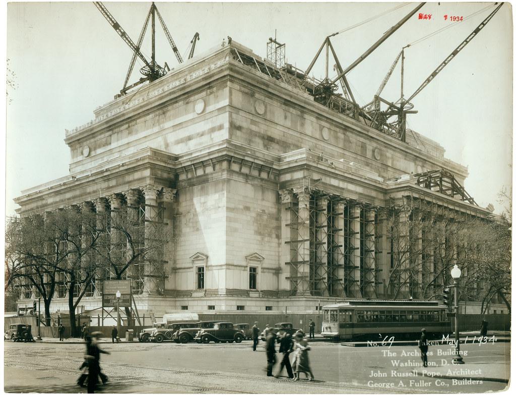 National Archives Building Washington Dc Flickr