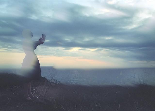 Swedish fairy merging with a Sardinian sky