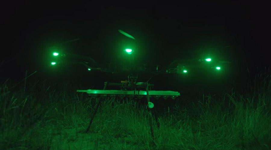 Октокоптер с 1000-ваттной лампой - ПоЗиТиФфЧиК - сайт позитивного настроения!