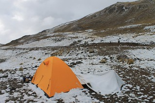 Camp at 4700m near Punta Fierro Cruz | by Pikes On Bikes