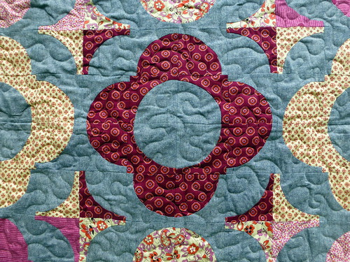 Autumn Garden Quilt (Popular Patchwork Nov16) | by Just Jude Designs