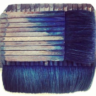 Blue Brushes | by E.Briel
