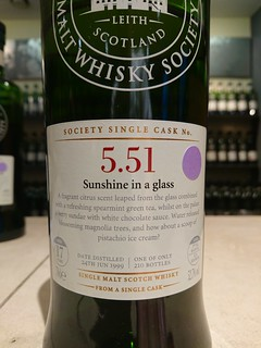 SMWS 5.51 - Sunshine in a glass