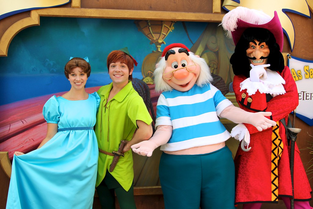 Peter Pan Mr Smee And Captain Hook