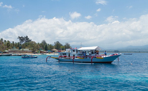 Boats off of Gili Air | by Luke Robinson