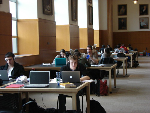 Deans Room Students Studying | by Cornell University Library Communications