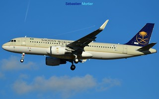 320.214-SHK SAUDI ARABIAN AIRLINES F-WWIH 7383 TO HZ-AS51 GOD BLESS YOU 21 10 16 TLS