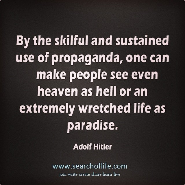 Image result for hitler and the media quotes