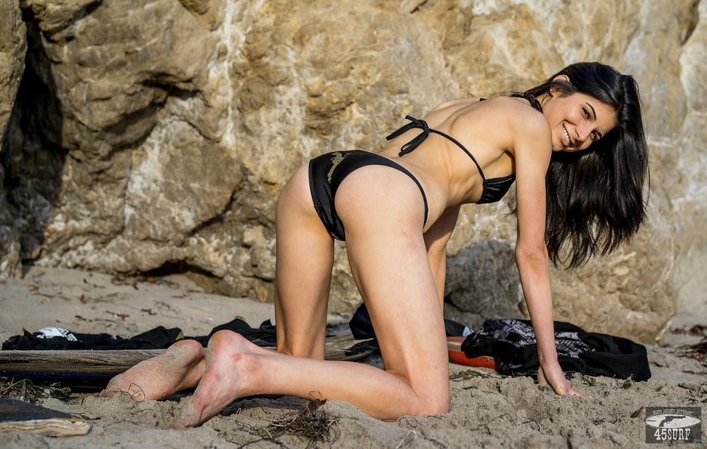 Bikini hair models