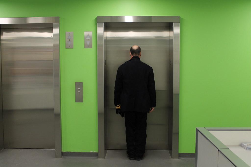 Elevator Man | by Avard Woolaver