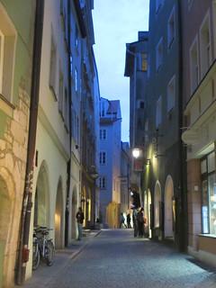 shopping street blue hour in regensburg germany paul mcclure flickr. Black Bedroom Furniture Sets. Home Design Ideas