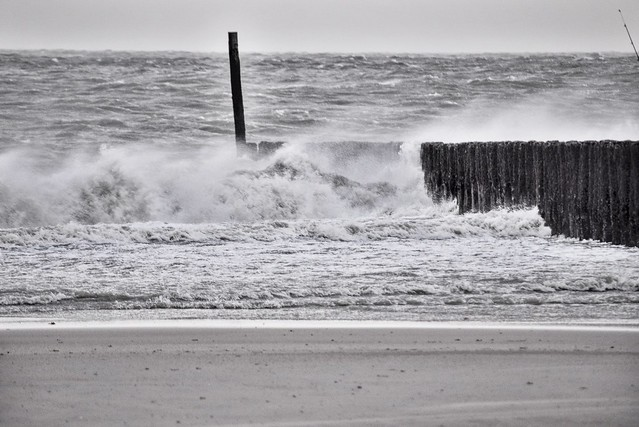 Storm in Cadzand