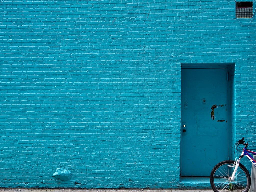 blue wall brooklyn ny waywuwei flickr