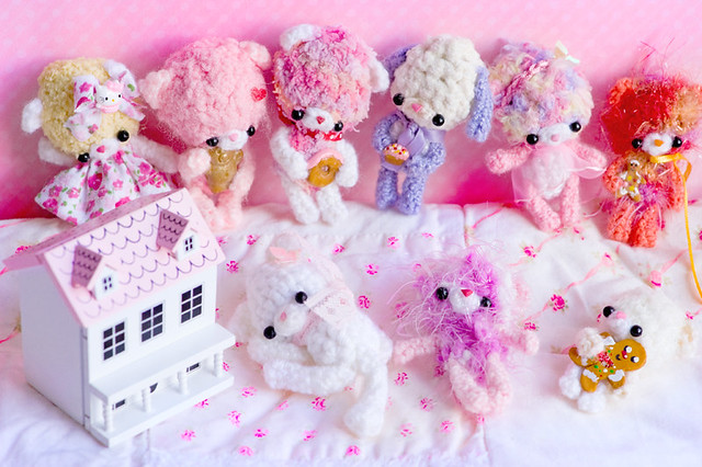 ♥ dollhouse bears
