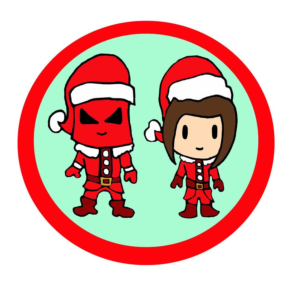 Super Pee Wee Kids Mason Valentine B-Pop Christmas Santa O… | Flickr
