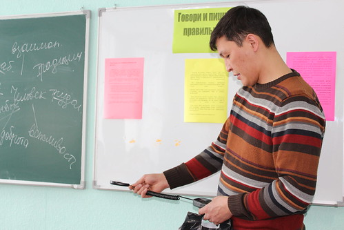 Modernizing lighting in Kazakhstan schools: Reading luxmeter data | by UNDP in Europe and Central Asia