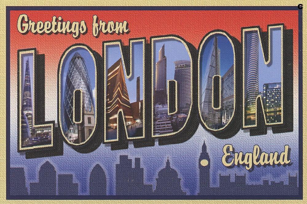 Resultado de imagem para london postcard