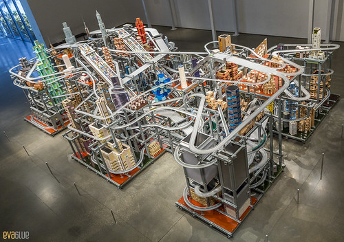 Chris Burden, Metropolis II LACMA Los Angeles 02 | by Eva Blue