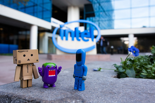 Danbo and Domo meet a new friend in Silicon Valley | by Takashi(aes256)