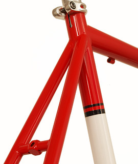 Gunnar Roadie Red with White Panels and Bullseye Decals | by Gunnar Cycles