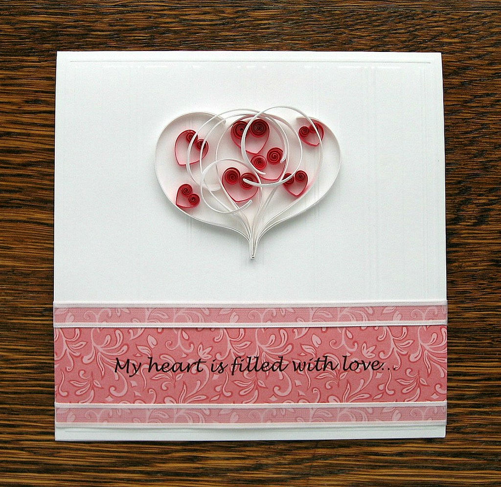 Hearts In A Heart Valentine Learn How To Make It Www Allt Flickr
