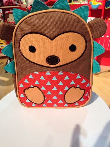 Hedgehog skip hop lunch bag | by jen_rab