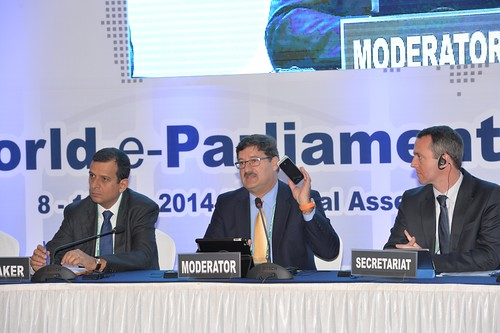 #wepc2014 Debate: Progress on e-parliaments | by Inter-Parliamentary Union