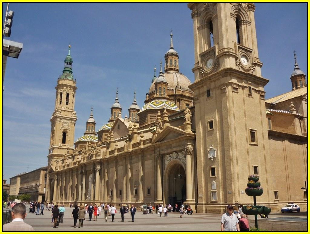 0138 basilica nuestra se ora del pilar zaragoza arag n - Arquitectura en zaragoza ...