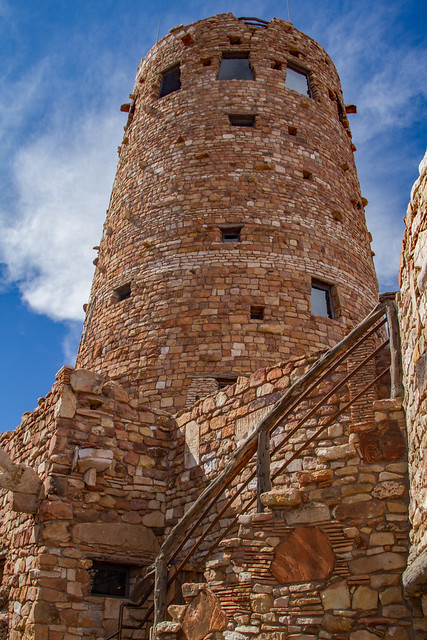 Desert View Watchtower: Grand Canyon National Park