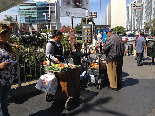 Street vendors at Vermont | by A Walker in LA