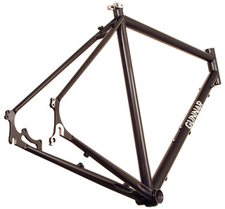 Gunnar Fastlane Disc Cross / Commuter/ Touring Frame - rear view | by Gunnar Cycles