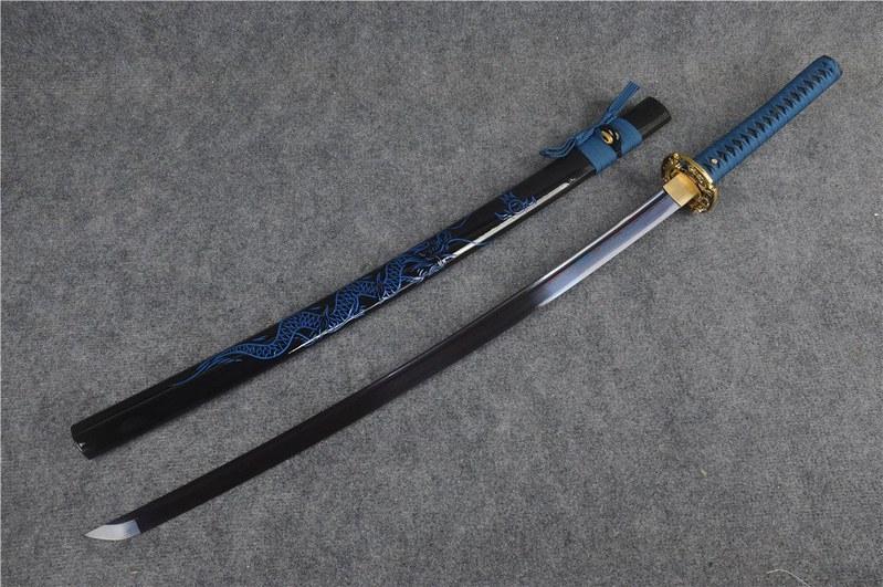 Japanese-samurai-sword-blue-blade-5