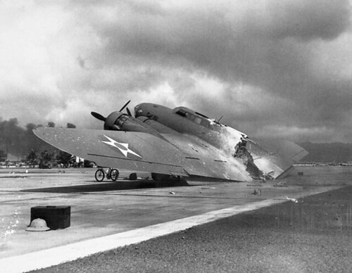 B-17 at Hickam Field | by International Historical Research Associates