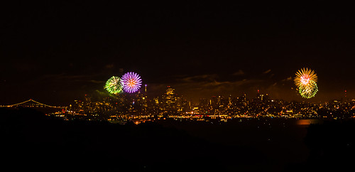 SF Fireworks | by Rich Shelton