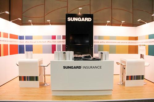 Sungard Exhibition Stand For : Sungard exhibit at irf xzibit i